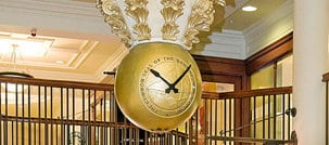 The Old Bank Clock